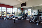 Thumbnail of gym area from the 360 e-tour of the Bridge at Emeryville apartments community