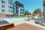 Thumbnail of pool area from the 360 e-tour of the Bridge at Emeryville apartments community