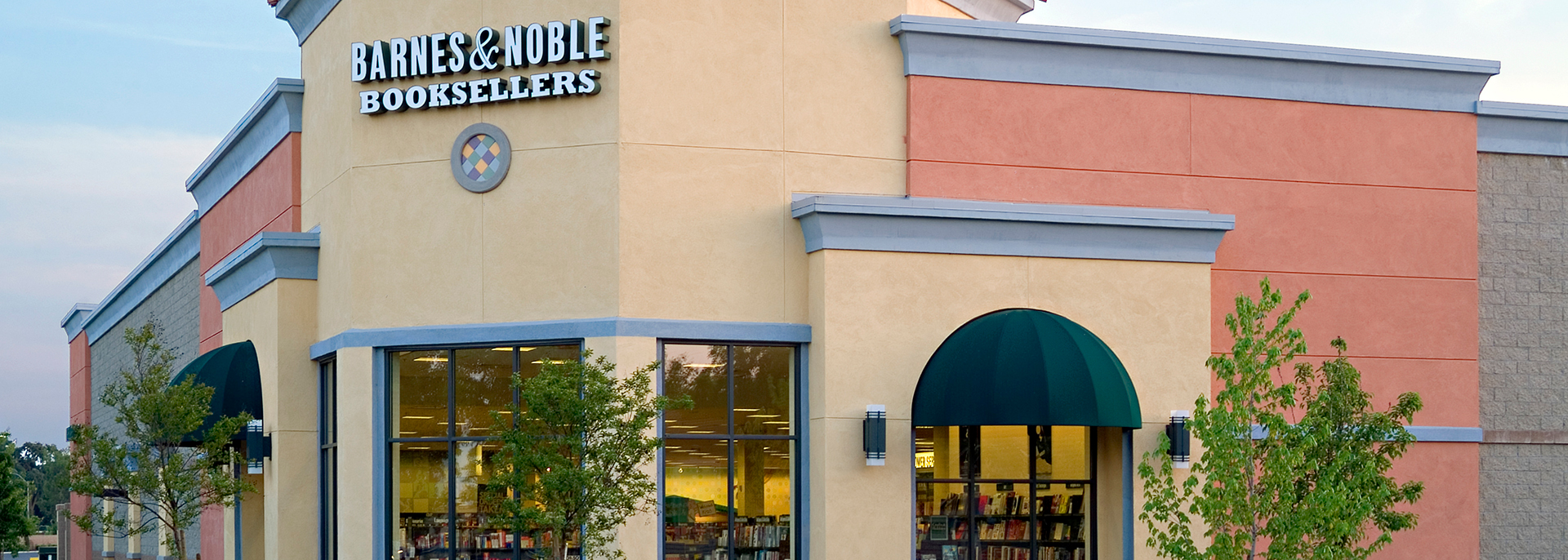 Barnes and Noble Booksellers building at Merced Marketplace