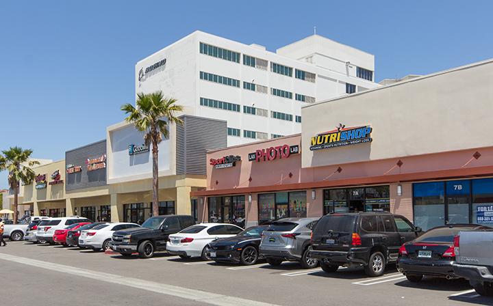 Various stores at The Hub - El Segundo
