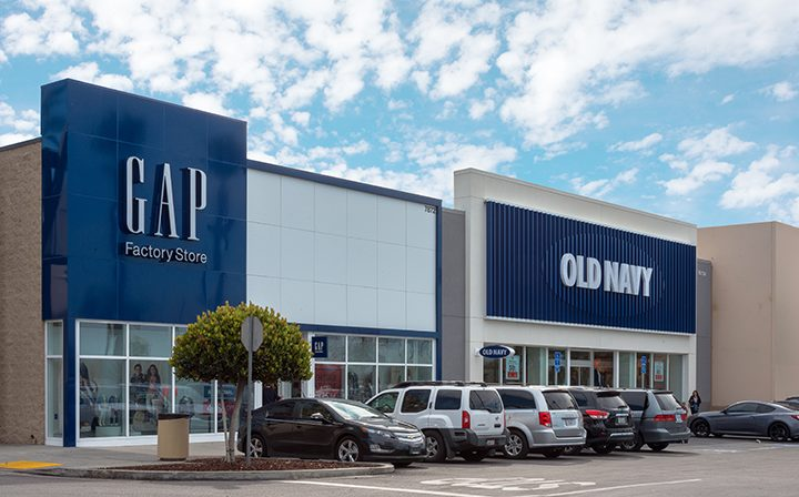 GAP and Old Navy at The Plant
