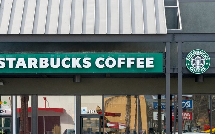 Starbucks Coffee at The Plant