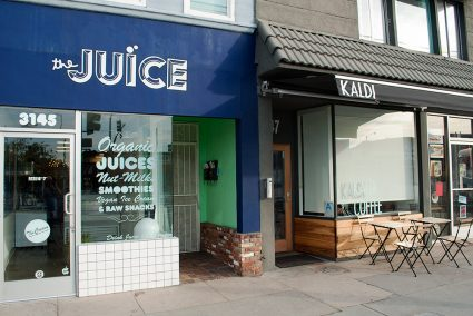 The Juice and Kaldi, popular juice and coffee shops near Decron's Atwater Village apartments
