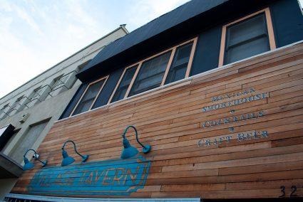 Village Tavern, a popular local venue to watch sports, near Decron's Atwater Village apartments