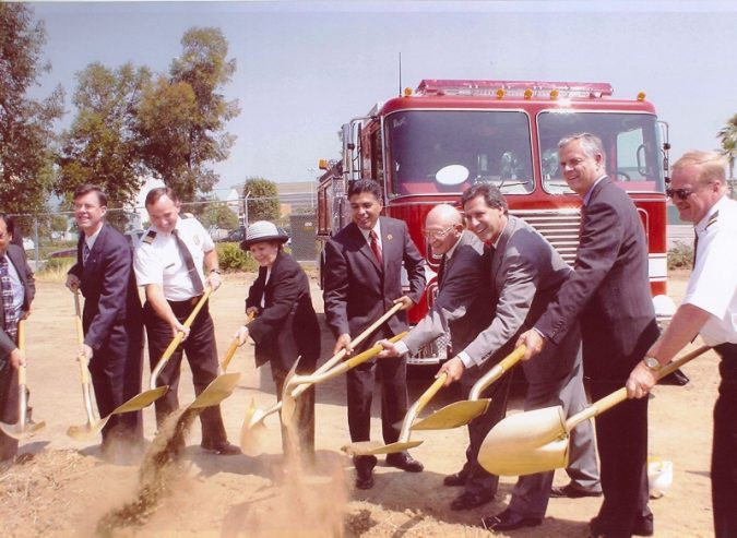 The Plant, Van Nuys, CA. Decron donated excess land to build LAPD's San Fernando Valley Traffic Dept Substation