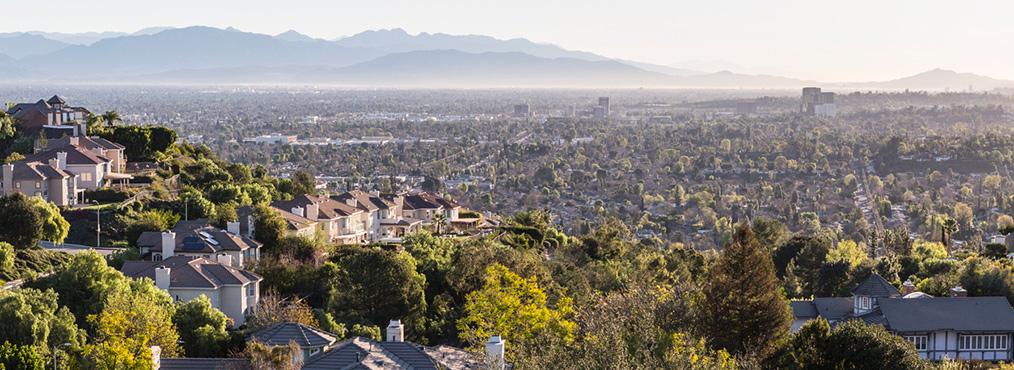 Terrain view of Woodland Hills Neighborhood