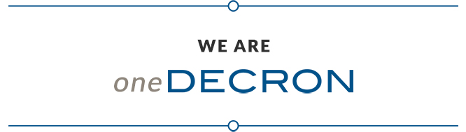 We Are oneDECRON