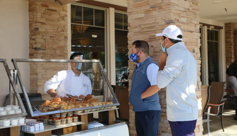Light refreshments at the 11th Annual Golf Tournament Benefiting YULA