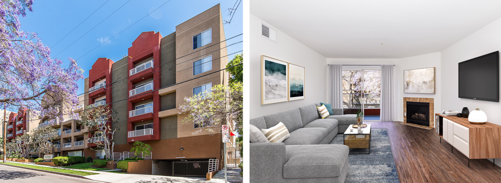 Decron's Hollywood apartments for rent, The Joshua and Marlon Manor